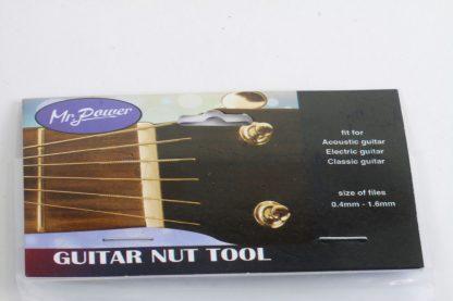 Gitarren-Steg-Feile, Sattelfeile