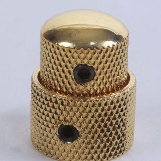 Poti-Knopf für Tandem-Potis, gold