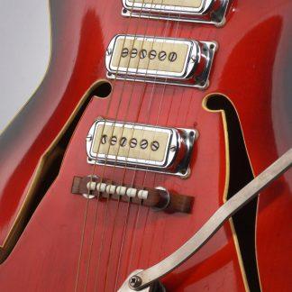 deutsche Vintage-Gitarre