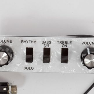 Controler für Bass (z.B. Höfner Bass, Violinbass)Switchpanel, Regler Regelbord